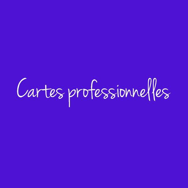 Cartes professionnelles